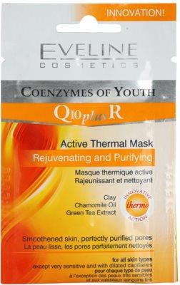 Eveline Cosmetics Q10 + R maseczka termoaktywna