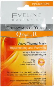 Eveline Cosmetics Q10 + R Thermo-Aktive Maske