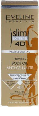 Eveline Cosmetics Slim Extreme aceite corporal reafirmante contra la celulitis 3