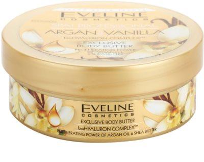 Eveline Cosmetics SPA Professional Argan & Vanilla tělové máslo