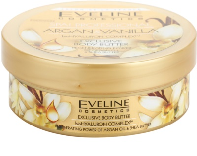 Eveline Cosmetics SPA Professional Argan & Vanilla масло за тяло