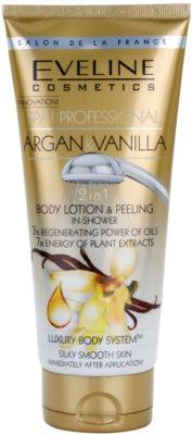 Eveline Cosmetics SPA Professional Argan & Vanilla gel de dus exfoliant
