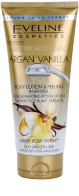 Eveline Cosmetics SPA Professional Argan & Vanilla piling za prhanje