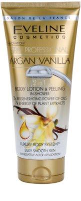 Eveline Cosmetics SPA Professional Argan & Vanilla sprchový peeling