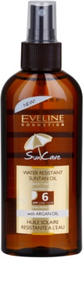 Eveline Cosmetics Sun Care olejek do opalania SPF 6