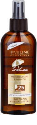 Eveline Cosmetics Sun Care óleo bronzeador em cápsulas  SPF 25