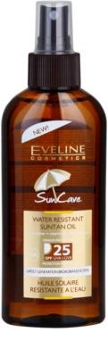 Eveline Cosmetics Sun Care олио за тен SPF 25
