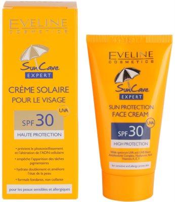 Eveline Cosmetics Sun Care krema za sončenje za obraz SPF 30 2