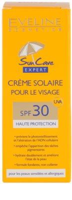 Eveline Cosmetics Sun Care opalovací krém na obličej SPF 30 3