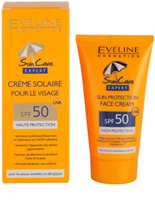 Eveline Cosmetics Sun Care creme solar facial SPF 50 2