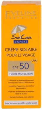 Eveline Cosmetics Sun Care creme solar facial SPF 50 3