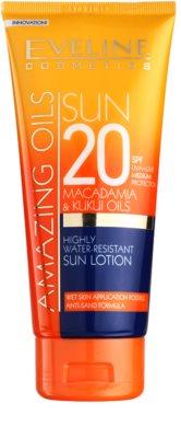 Eveline Cosmetics Sun Care молочко для засмаги SPF 20