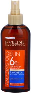 Eveline Cosmetics Sun Care óleo bronzeador em cápsulas  SPF 6