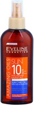Eveline Cosmetics Sun Care aceite solar en spray SPF 10