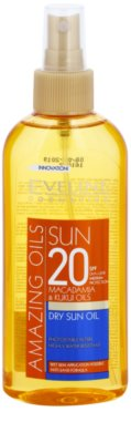 Eveline Cosmetics Sun Care napozó olaj spray -ben SPF 20