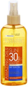 Eveline Cosmetics Sun Care óleo bronzeador em cápsulas  SPF 30