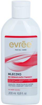 Evrée Cleaning mleko za odstranjevanje ličil za suho kožo