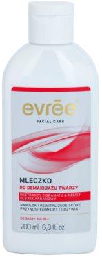 Evrée Cleaning очищуюче молочко для сухої шкіри