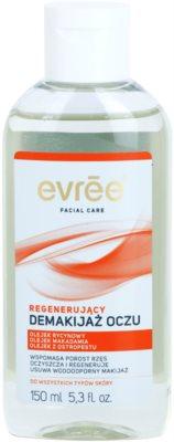 Evrée Cleaning removedor de maquilhagem de olhos com efeito regenerador