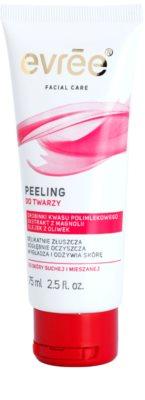 Evrée Cleaning exfoliante facial  para pieles secas y mixtas