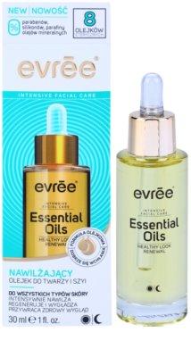 Evrée Essential Oils feuchtigkeitsspendendes Gesichtsöl für alle Hauttypen 1