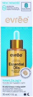 Evrée Essential Oils feuchtigkeitsspendendes Gesichtsöl für alle Hauttypen 2