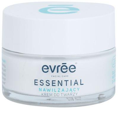 Evrée Essential Oils creme facial com efeito hidratante