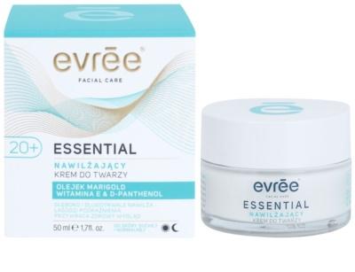 Evrée Essential Oils creme facial com efeito hidratante 1
