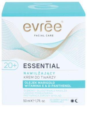 Evrée Essential Oils creme facial com efeito hidratante 2