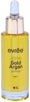 Evrée Gold Argan pleťový olej s omlazujícím účinkem