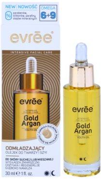 Evrée Gold Argan pleťový olej s omladzujúcim účinkom 1