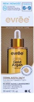 Evrée Gold Argan olje za obraz s pomlajevalnim učinkom 2