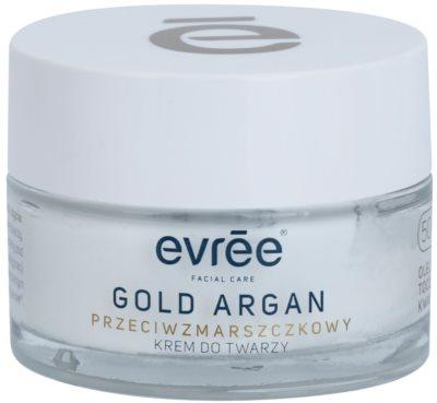 Evrée Gold Argan крем против бръчки 50+
