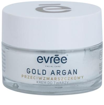Evrée Gold Argan krem przeciw zmarszczkom 50+