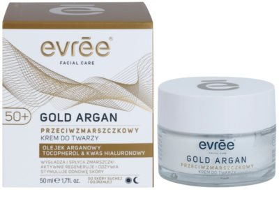 Evrée Gold Argan Anti-Faltencreme 50+ 1