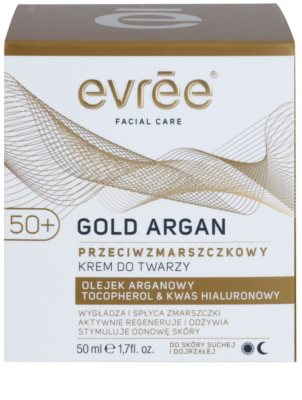 Evrée Gold Argan Anti-Faltencreme 50+ 2