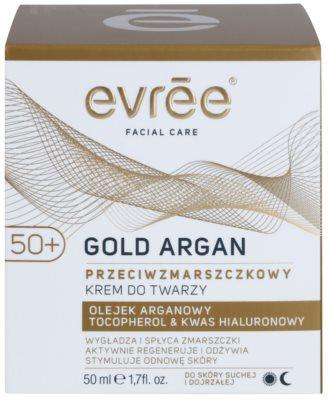 Evrée Gold Argan protivráskový krém 50+ 2