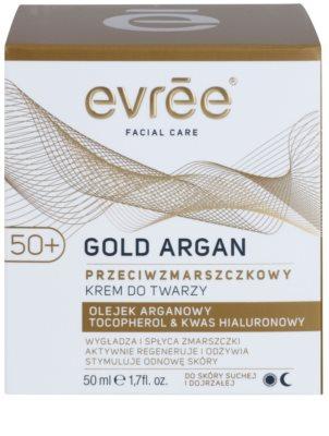 Evrée Gold Argan krema proti gubam 50+ 2