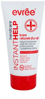 Evrée Instant Help успокояващ крем за ръце с хидратиращ ефект