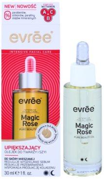 Evrée Magic Rose aceite facial rejuvenecedor para pieles mixtas 1