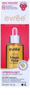 Evrée Magic Rose омолоджуюча олійка для обличчя для комбінованої шкіри 2