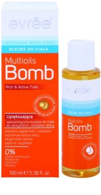 Evrée Intensive Body Care Multioils Bomb testápoló olaj fiatalító hatással 1