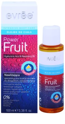 Evrée Intensive Body Care Power Fruit ulei de corp cu două faze cu efect de hidratare 1