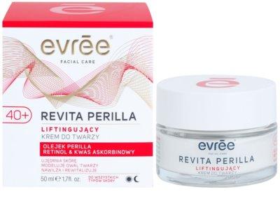 Evrée Revita Perilla crema con efecto lifting 40+ 1