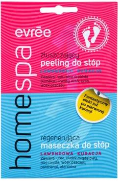 Evrée Home Spa Peeling und Maske für Füssen