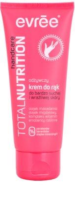Evrée Total Nutrifirm creme nutritivo para as mãos para peles secas e sensíveis
