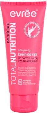 Evrée Total Nutrifirm nährende Handcreme für trockene und empfindliche Haut