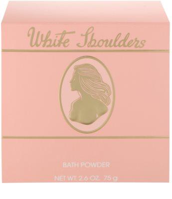 Evyan White Shoulders pudra de  corp pentru femei