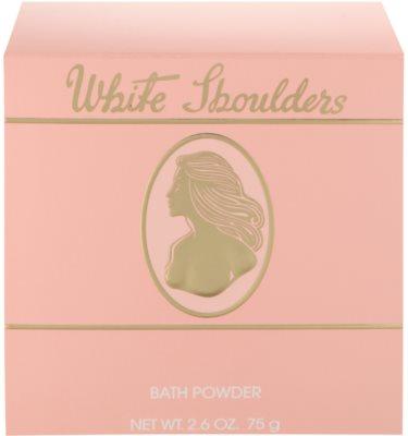 Evyan White Shoulders tělový pudr pro ženy