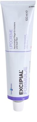 Excipial Formulae creme rico nutritivo para pele seca a muito seca
